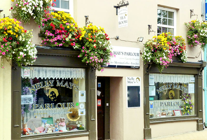 Nelly May's Tea Room on Ilfracombe High Street