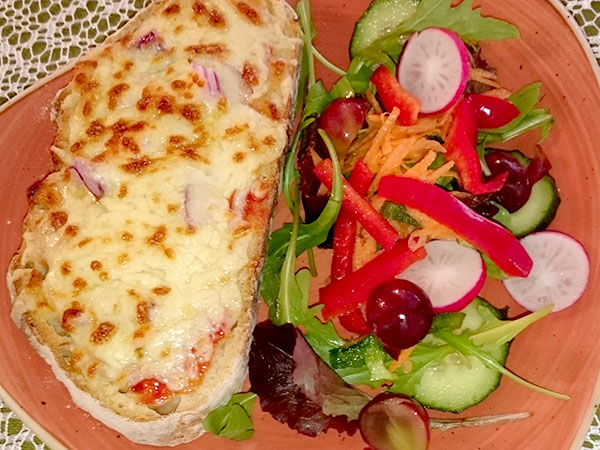 light lunches and snacks at Nelly May's tearoom