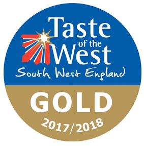 Taste of the West Gold award 2018